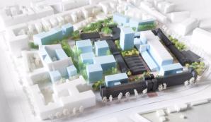 Städtebaulicher Entwurf Dragonerareal
